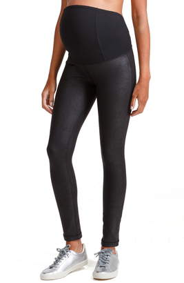 Ingrid & Isabel R) Faux Leather Maternity Leggings