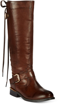 Wanted Lounge Lace-up Riding Boots $89 thestylecure.com
