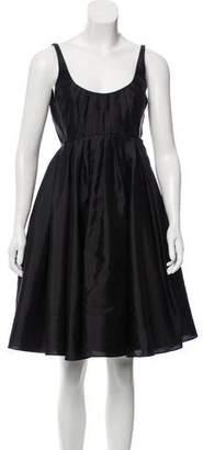Zac Posen Woven Sleeveless Dress