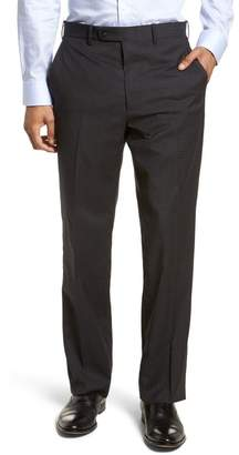 JB Britches Classic Fit Flat Front Trousers