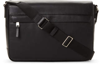 Michael Kors Odin Leather Messenger Bag