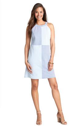Vineyard Vines Seersucker Stripe Block Dress
