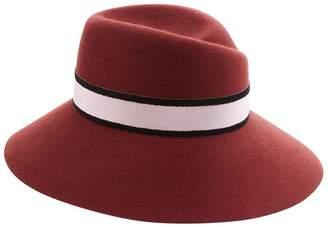 Maison Michel Rose Wide Brim Hat