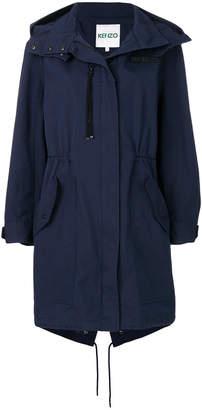 Kenzo zip fastened coat