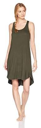 Mae Amazon Brand Women's Sleepwear Long Racerback Nightgown