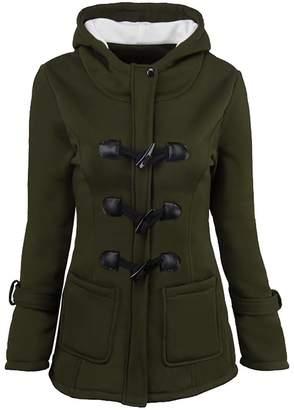Blend of America Zantt Women's Outwear Fleece Hoodies Front-Zip Wool Sweatshirt Jackets US M