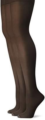 L'eggs Women's Energy 3-Pack Control Top Reinforced Toe Panty Hose