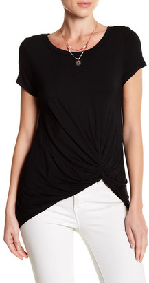 WEST KEI Short Sleeve Twist Front Tee $58 thestylecure.com