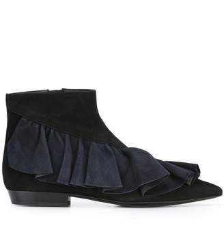 J.W.Anderson ruffle ankle booties