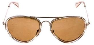 Celine Hamptons Aviator Sunglasses