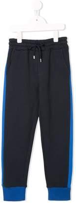 MSGM side stripes drawstring sweatpants