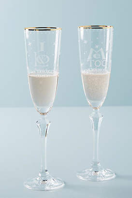 Anthropologie Sybille Flutes, Set of 2