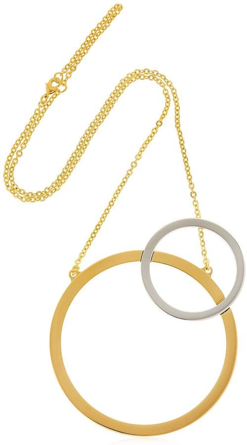 Vita Fede Sole Two Toned Necklace
