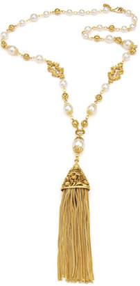 Ben-Amun Chain Tassel Pendant Necklace