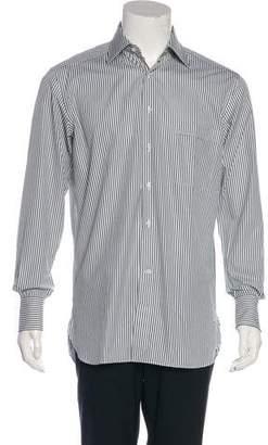 Lorenzini Striped Woven Shirt w/ Tags
