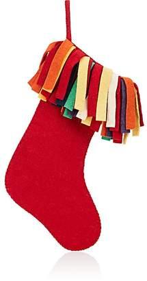Arcadia Fringe Felted Wool Stocking