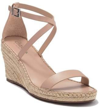 Charles by Charles David Nola Smoothe Leather Espadrille Wedge Sandal