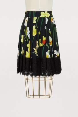 Dolce & Gabbana Iris print miniskirt