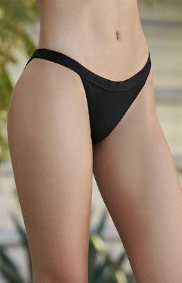 LA Hearts Ribbed Cheeky Bikini Bottom $19.95 thestylecure.com