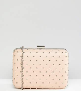 True Decadence Box Clutch Bag With Studding