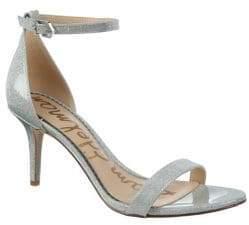 Sam Edelman Orient Express Patti Patent Leather Ankle-Strap Sandals