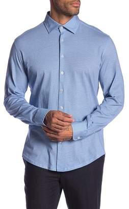 Stone Rose Honeycomb Long Sleeve Shirt