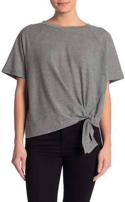 Love Stitch Striped Side Knot T-Shirt