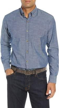 Peter Millar Blue Ridge Regular Fit Indigo Sport Shirt