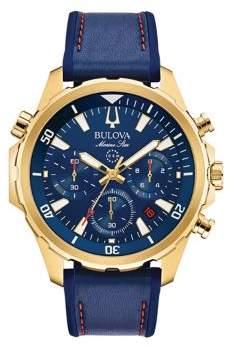 Bulova Marine Star Stainless Steel Strap Watch