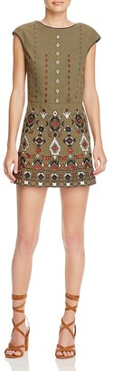 Piper Embroidered Skirted Romper $187 thestylecure.com