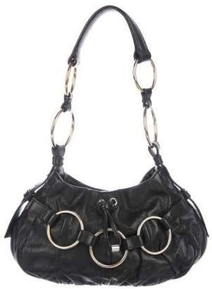 Saint Laurent Ring Leather Hobo