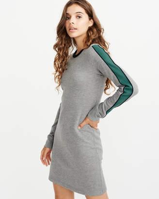 Abercrombie & Fitch Side Stripe Fleece Dress