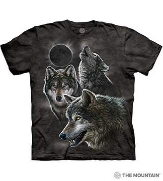 The Mountain Men's Eclipse Wolves T-Shirt