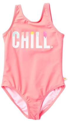 Kate Spade chill one piece swimsuit (Toddler Girls)