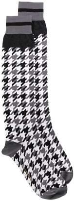 Dolce & Gabbana houndstooth pattern socks