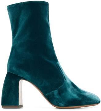 L'Autre Chose sculptural heel ankle boots