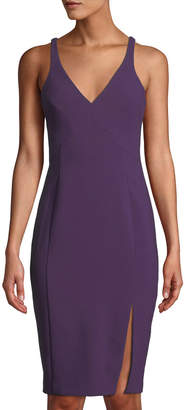 LIKELY Elisas V-Back Cocktail Sheath Dress