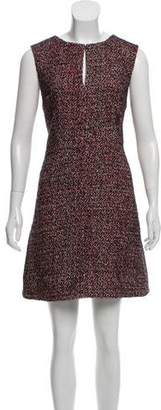 Diane von Furstenberg Tweed Sheath Dress