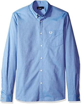 Fred Perry Men's Classic Oxford Long Sleeve Shirt