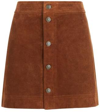 Polo Ralph Lauren Suede Skirt