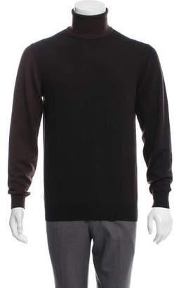 Maison Margiela Colorblock Turtleneck Sweater