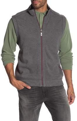 Tommy Bahama Flipster Reversible Zip Knit Vest