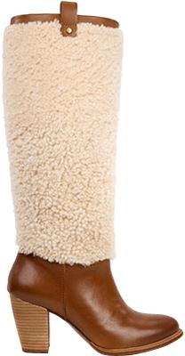 UGGWomen's UGG Ava Exposed Fur Boot