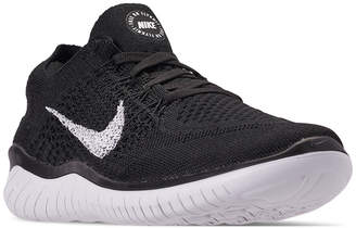 df34539fe49 Nike Women Free Run Flyknit 2018 Running Sneakers from Finish Line