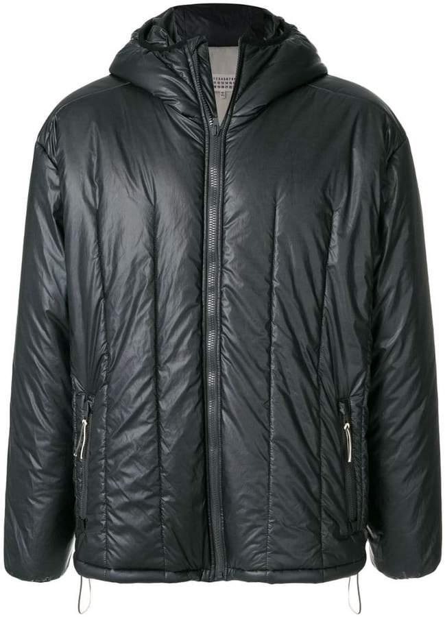 Maison Margiela quilted hooded jacket