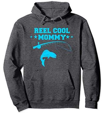 Reel Cool Mommy Hoodie Fish Fishing Fisherman Angler Gift