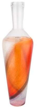 Kosta Boda Glass Bottle Vase