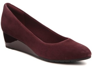 Clarks Mallory Wedge Pump