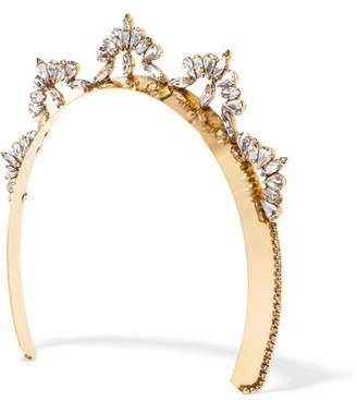 Swarovski (スワロフスキー) - LELET NY - Nat Gold-plated Swarovski Crystal Headband - one size