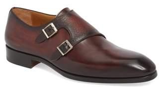 Magnanni Arlo Pebbled Monk Shoe